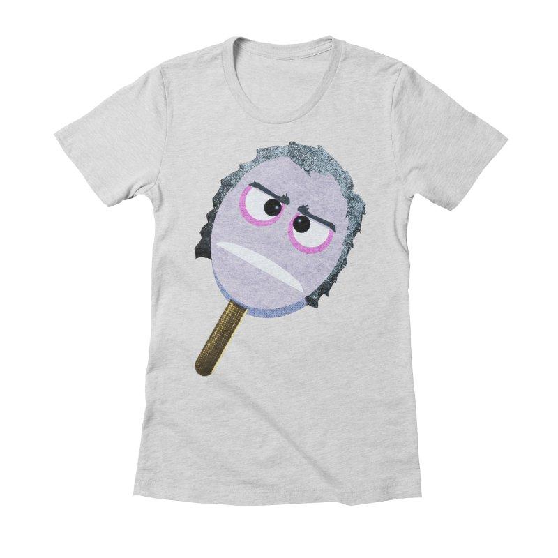 Torrance Pop Women's Fitted T-Shirt by Reservoir Geeks