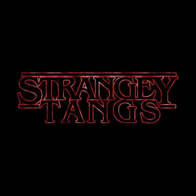Strangey Tangs Kids Baby T-Shirt by Reservoir Geeks