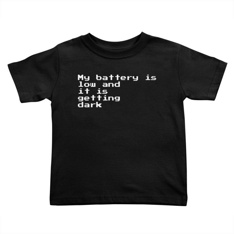Good Night Oppy Kids Toddler T-Shirt by Reservoir Geeks