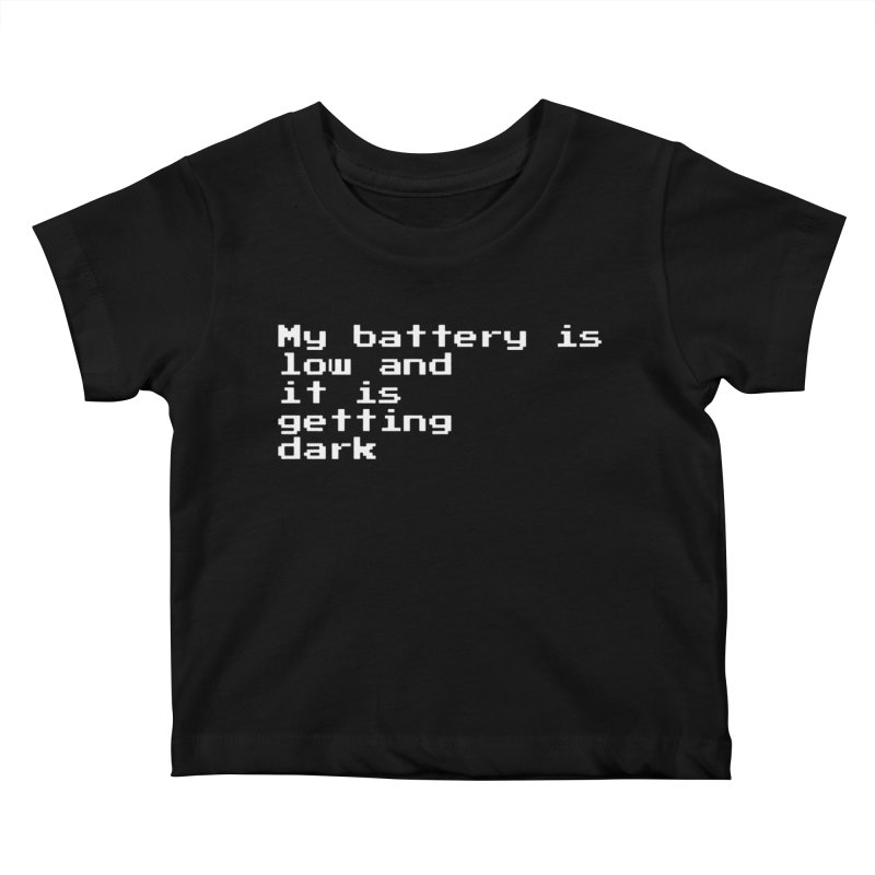 Good Night Oppy Kids Baby T-Shirt by Reservoir Geeks