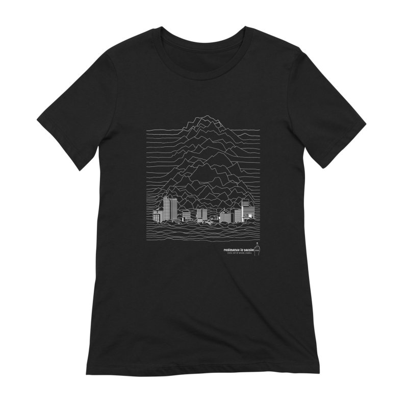 Joy Denversion Women's Extra Soft T-Shirt by Resistance is Tactile
