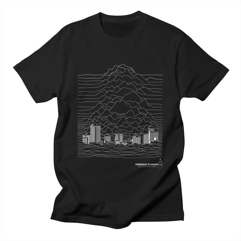 Joy Denversion Men's T-Shirt by Resistance is Tactile