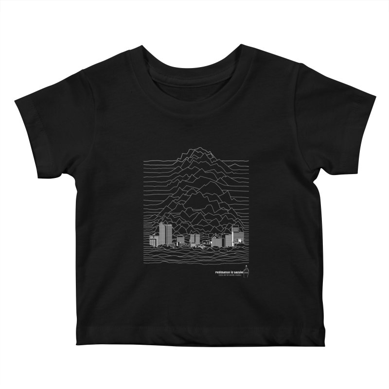 Joy Denversion Kids Baby T-Shirt by Resistance is Tactile