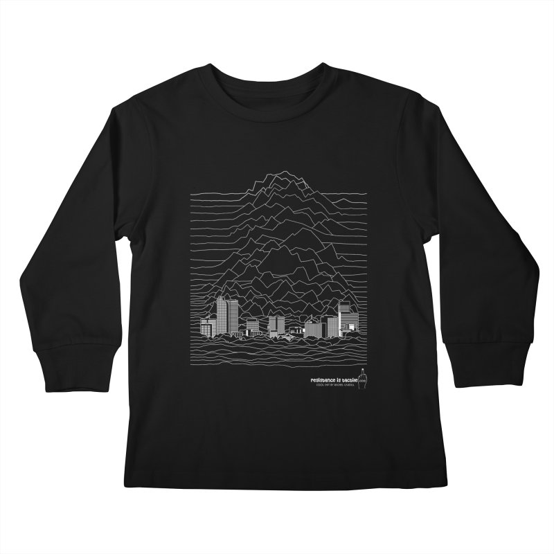 Joy Denversion Kids Longsleeve T-Shirt by Resistance is Tactile