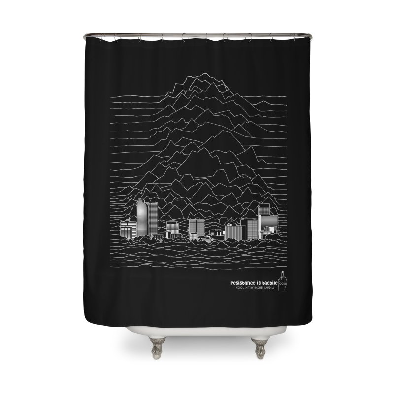 Joy Denversion Home Shower Curtain by Resistance is Tactile