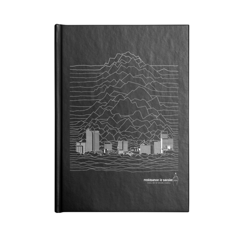 Joy Denversion Accessories Blank Journal Notebook by Resistance is Tactile