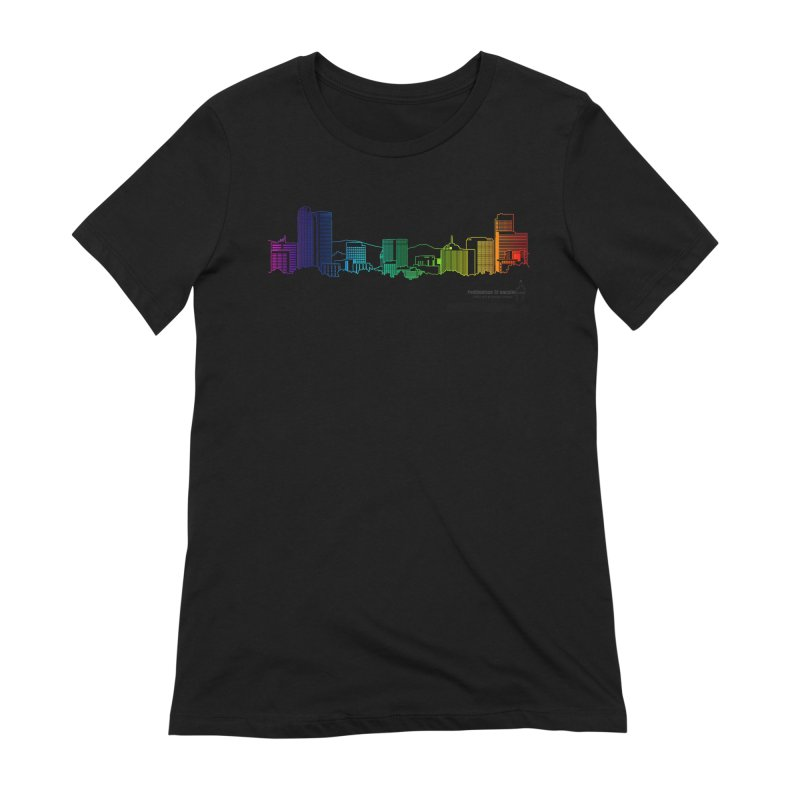 Denver Vapes Women's Extra Soft T-Shirt by Resistance is Tactile