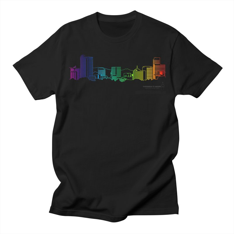 Denver Vapes Men's T-Shirt by Resistance is Tactile