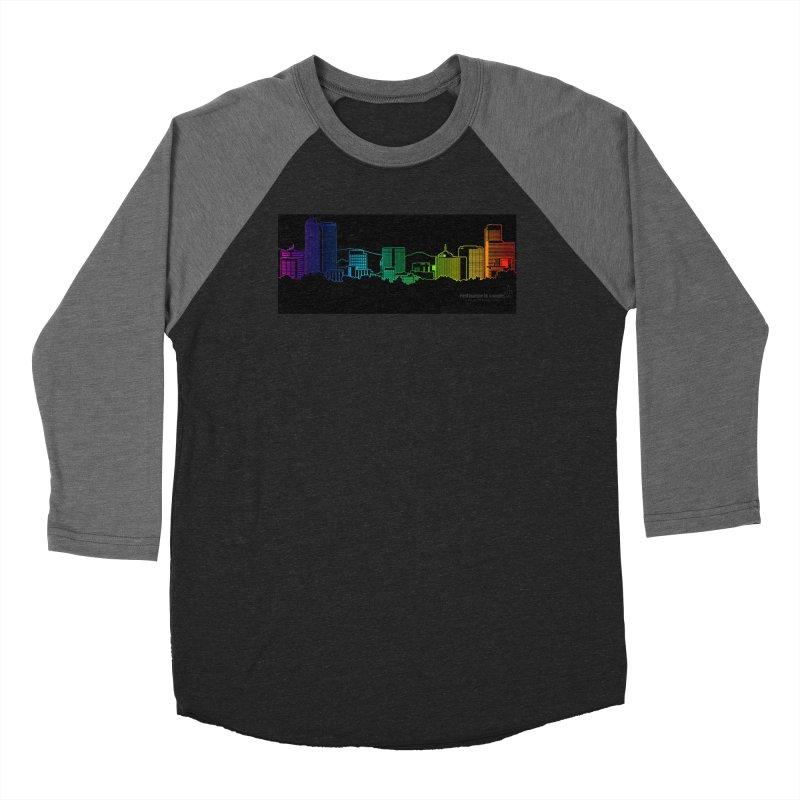 Denver Vapes Men's Baseball Triblend Longsleeve T-Shirt by Resistance is Tactile