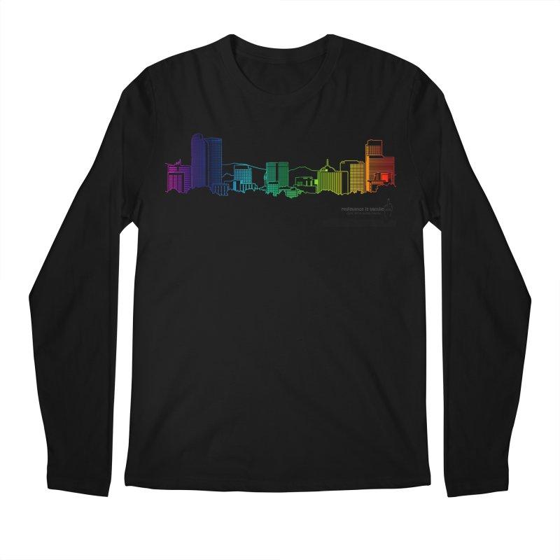 Denver Vapes Men's Regular Longsleeve T-Shirt by Resistance is Tactile