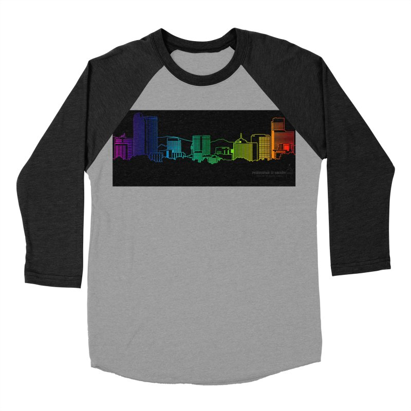 Denver Vapes Women's Baseball Triblend Longsleeve T-Shirt by Resistance is Tactile