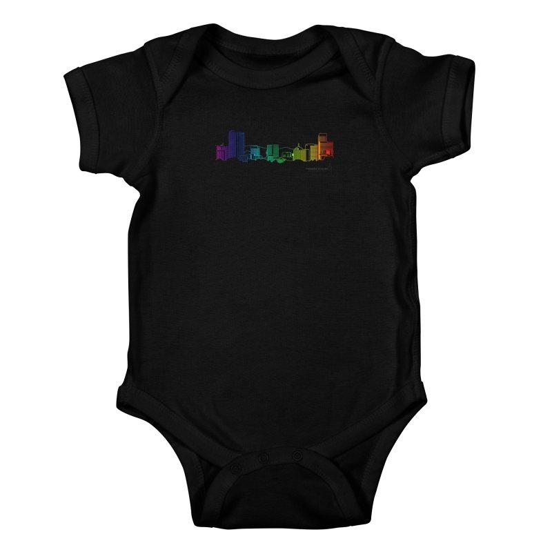 Denver Vapes Kids Baby Bodysuit by Resistance is Tactile