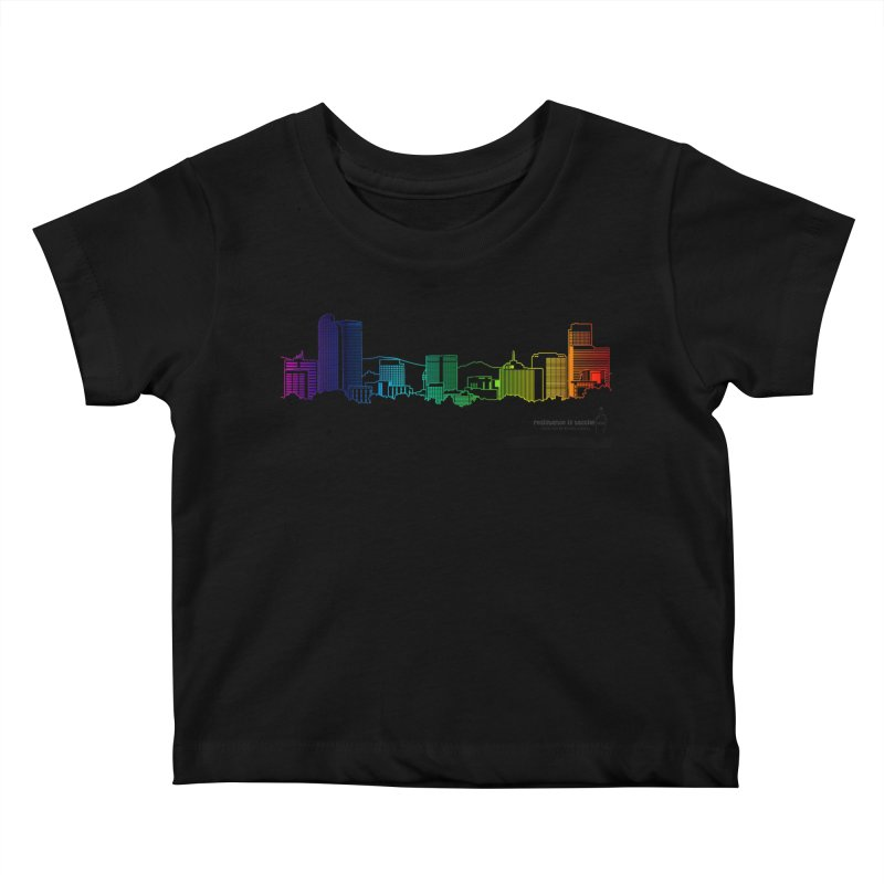 Denver Vapes Kids Baby T-Shirt by Resistance is Tactile
