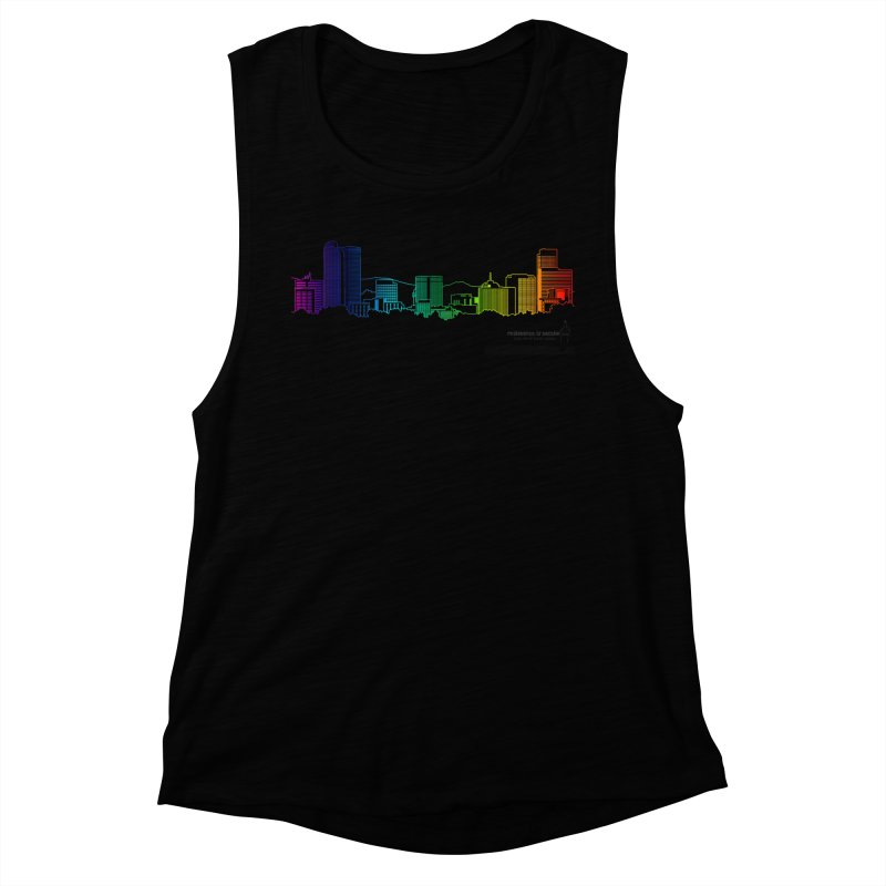 Denver Vapes Women's Muscle Tank by Resistance is Tactile