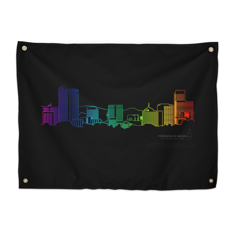 Denver Vapes Home Tapestry by Resistance is Tactile
