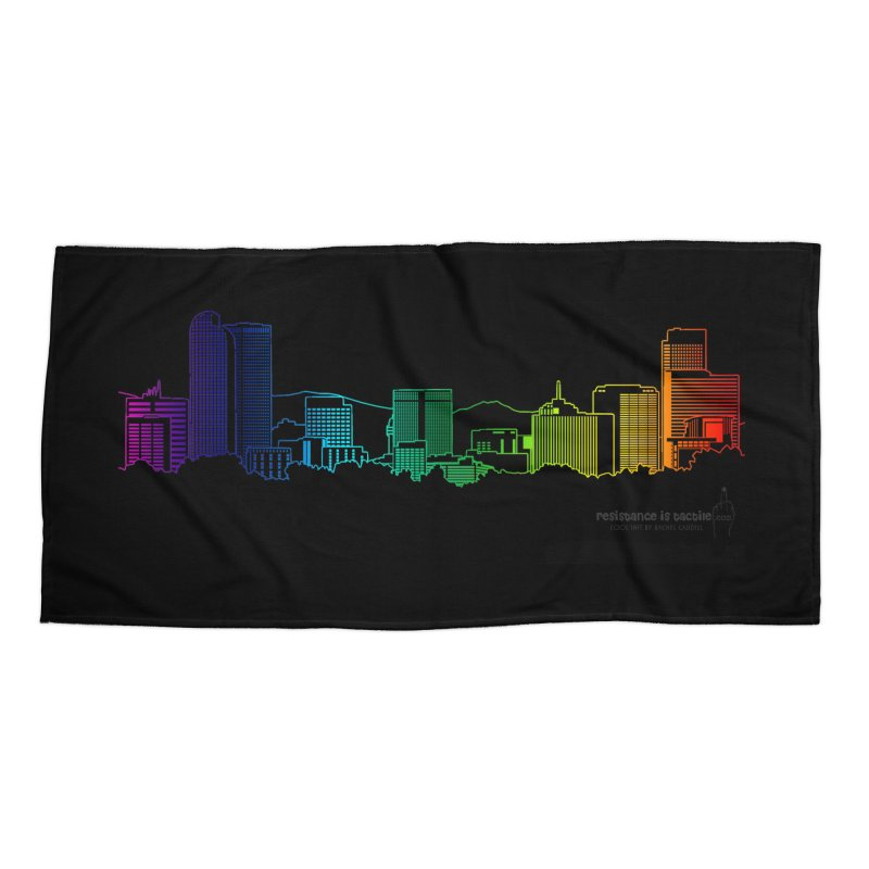 Denver Vapes Accessories Beach Towel by Resistance is Tactile