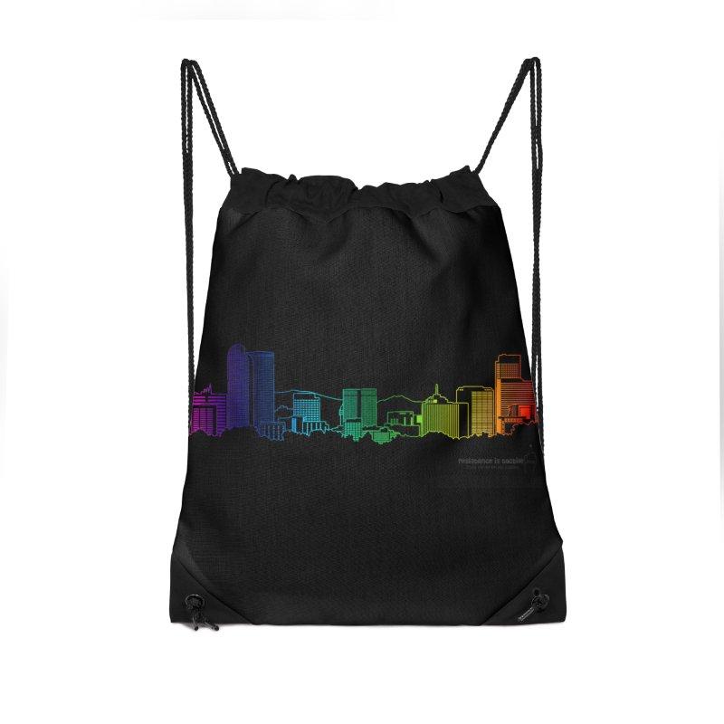 Denver Vapes Accessories Drawstring Bag Bag by Resistance is Tactile
