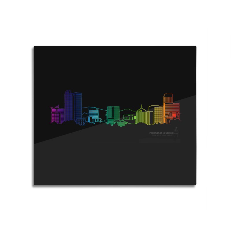 Denver Vapes Home Mounted Acrylic Print by Resistance is Tactile