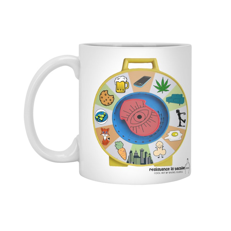 See Something, Say Something Accessories Standard Mug by Resistance is Tactile