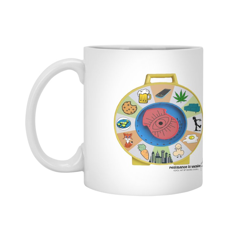 See Something, Say Something Accessories Mug by Resistance is Tactile
