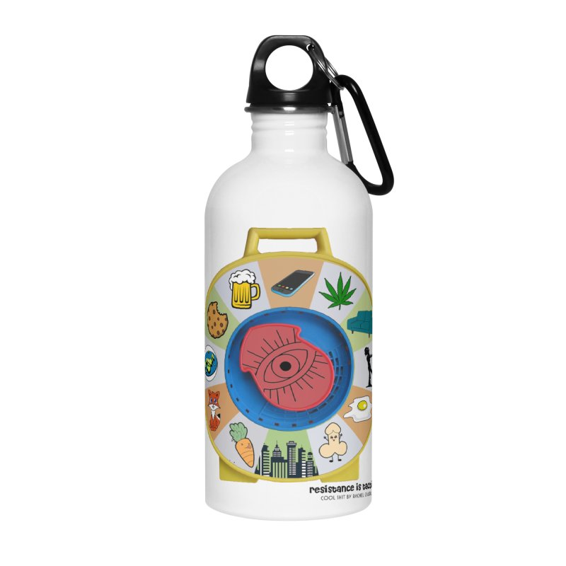 See Something, Say Something Accessories Water Bottle by Resistance is Tactile