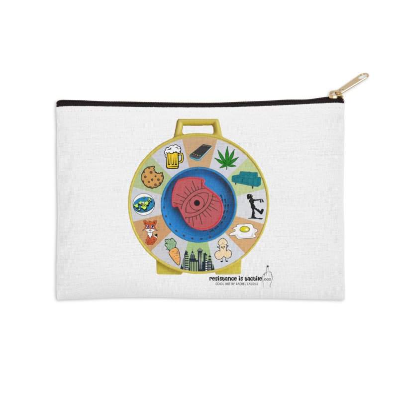 See Something, Say Something Accessories Zip Pouch by Resistance is Tactile