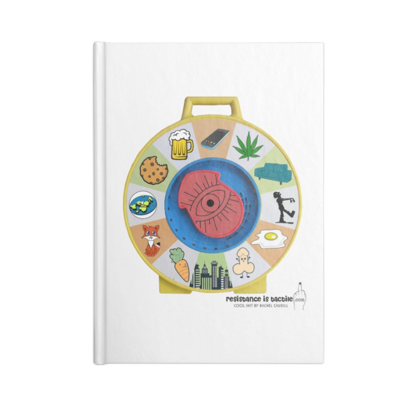 See Something, Say Something Accessories Lined Journal Notebook by Resistance is Tactile