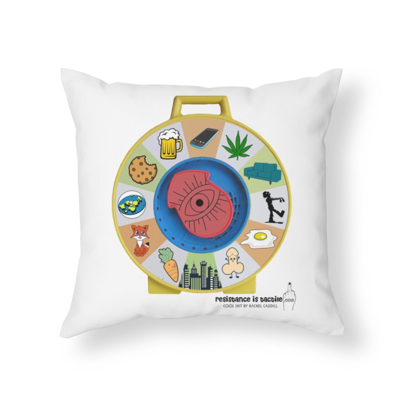 See Something, Say Something Home Throw Pillow by Resistance is Tactile