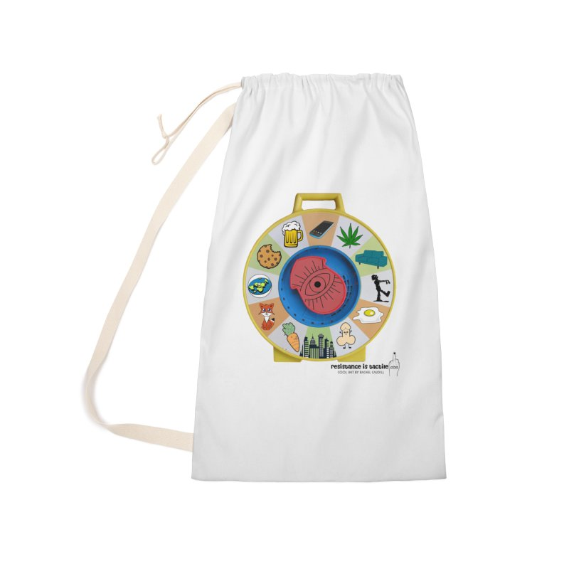 See Something, Say Something Accessories Laundry Bag Bag by Resistance is Tactile