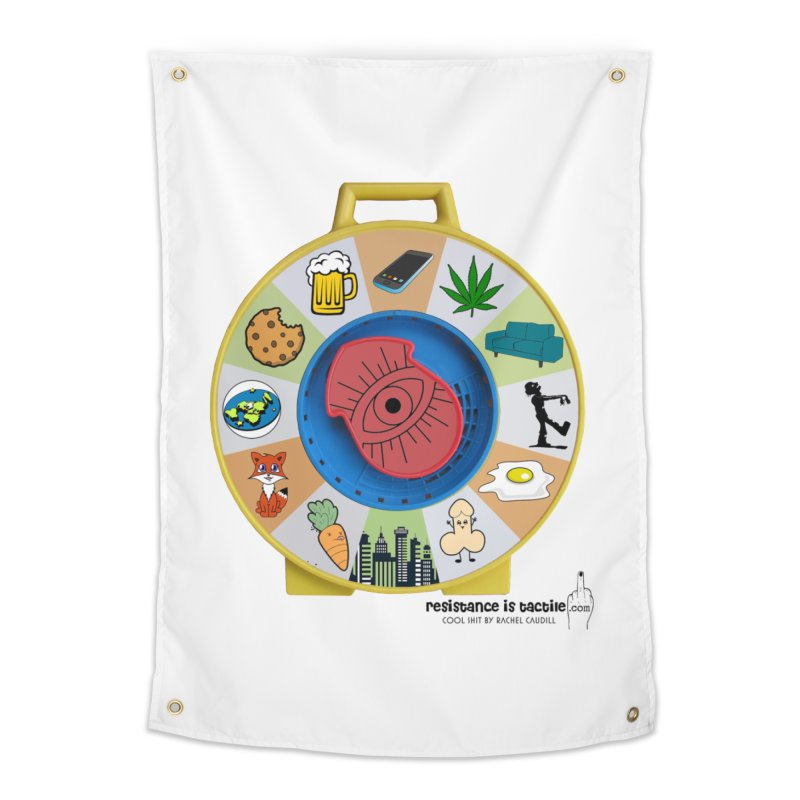 See Something, Say Something Home Tapestry by Resistance is Tactile
