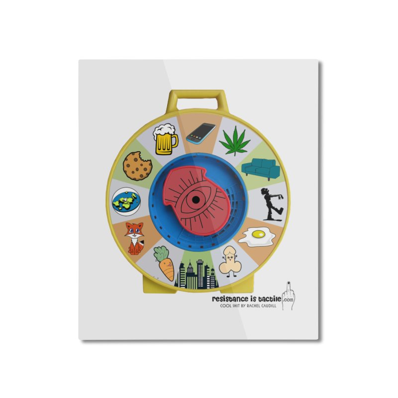See Something, Say Something Home Mounted Aluminum Print by Resistance is Tactile