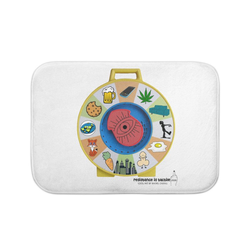 See Something, Say Something Home Bath Mat by Resistance is Tactile