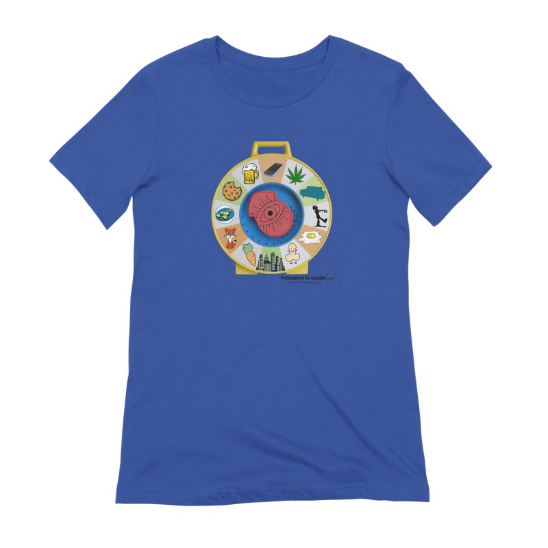See Something, Say Something Women's T-Shirt by Resistance is Tactile