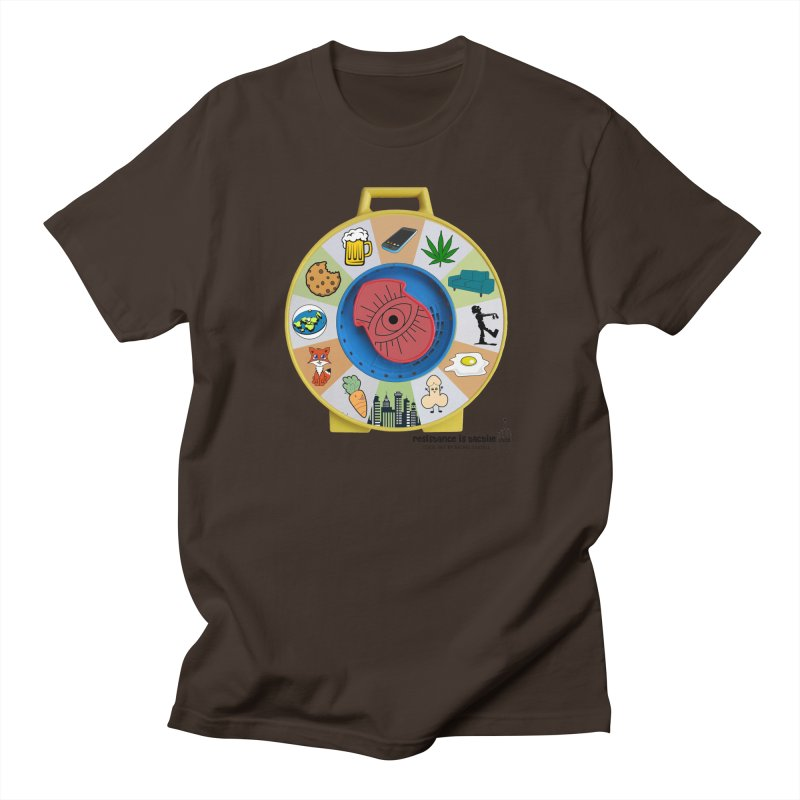 See Something, Say Something Men's T-Shirt by Resistance is Tactile