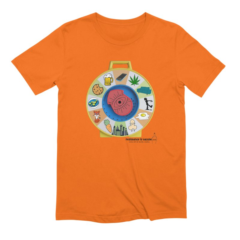 See Something, Say Something Men's Extra Soft T-Shirt by Resistance is Tactile