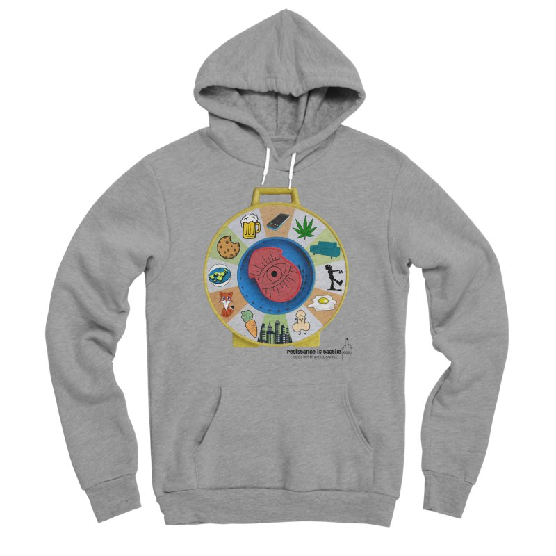 See Something, Say Something Women's Sponge Fleece Pullover Hoody by Resistance is Tactile