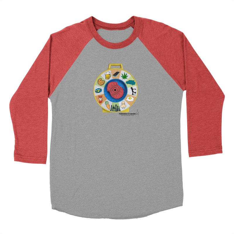 See Something, Say Something Men's Longsleeve T-Shirt by Resistance is Tactile