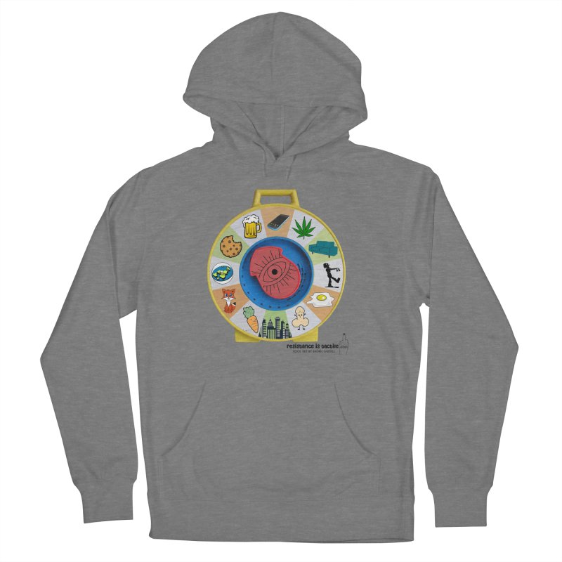 See Something, Say Something Men's French Terry Pullover Hoody by Resistance is Tactile