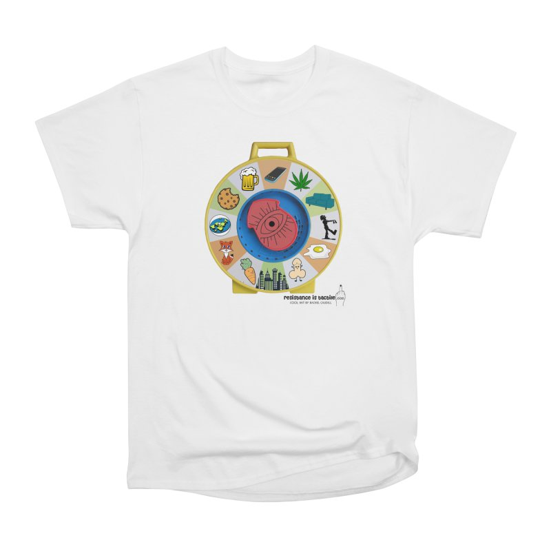 See Something, Say Something Men's Heavyweight T-Shirt by Resistance is Tactile