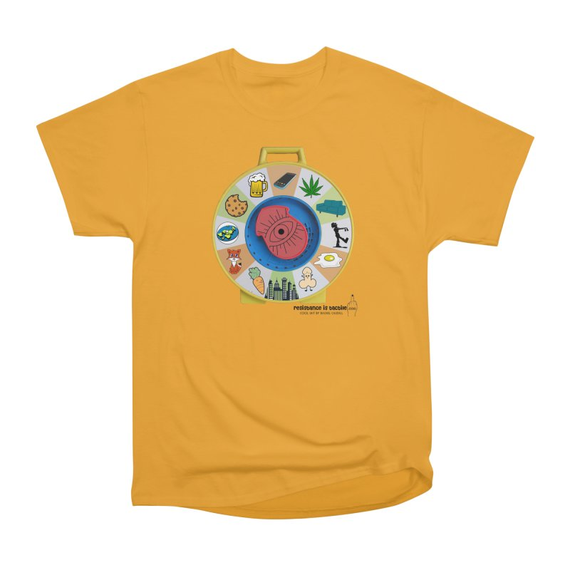 See Something, Say Something Women's Heavyweight Unisex T-Shirt by Resistance is Tactile