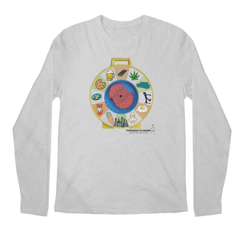 See Something, Say Something Men's Regular Longsleeve T-Shirt by Resistance is Tactile