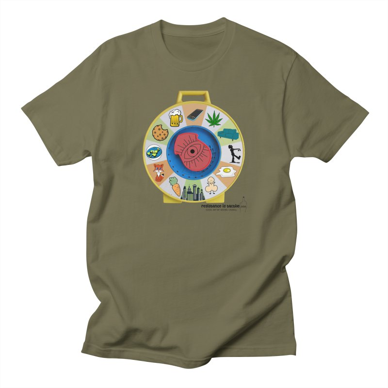 See Something, Say Something Men's Regular T-Shirt by Resistance is Tactile