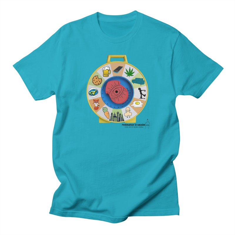 See Something, Say Something Women's Regular Unisex T-Shirt by Resistance is Tactile