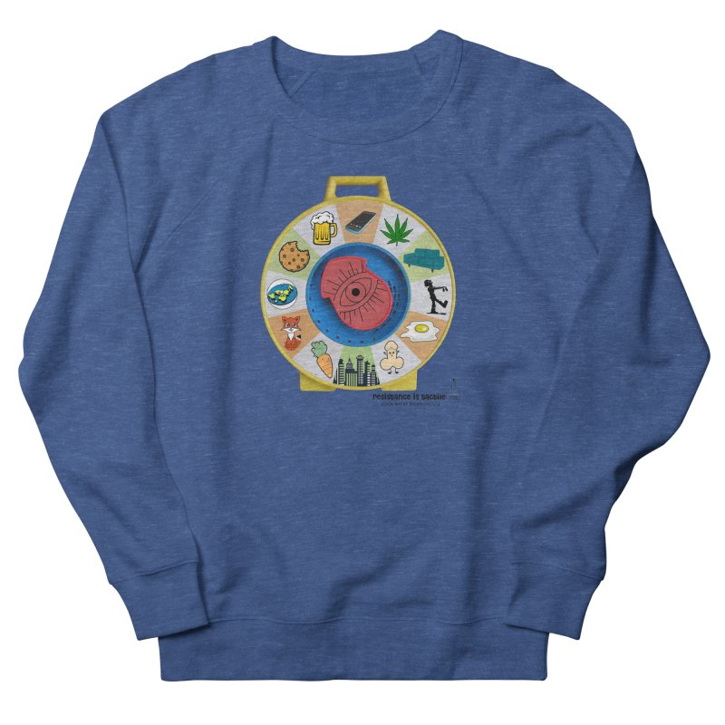 See Something, Say Something Women's French Terry Sweatshirt by Resistance is Tactile