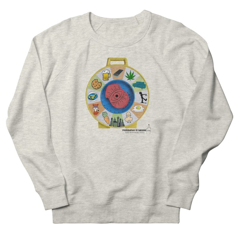 See Something, Say Something Men's French Terry Sweatshirt by Resistance is Tactile