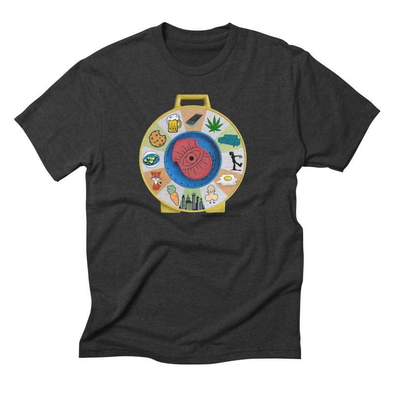 See Something, Say Something Men's Triblend T-Shirt by Resistance is Tactile