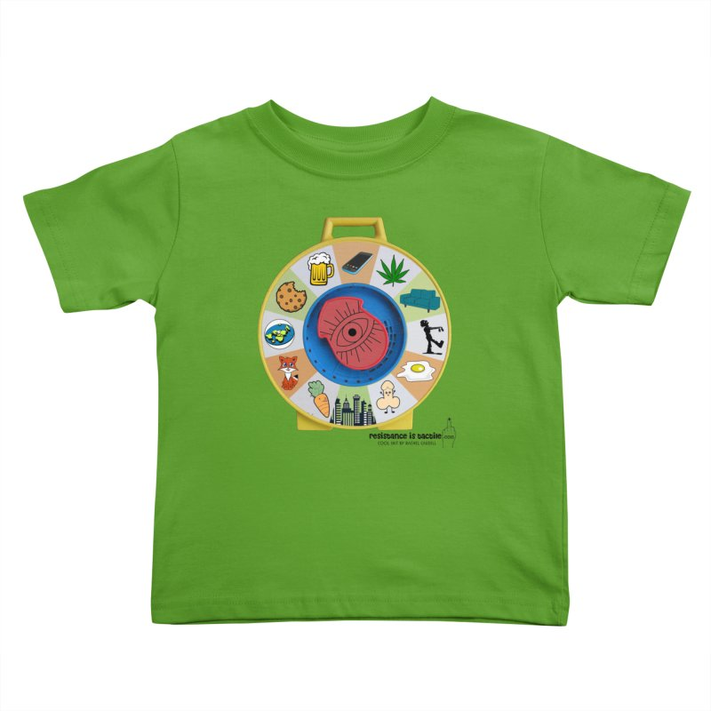 See Something, Say Something Kids Toddler T-Shirt by Resistance is Tactile