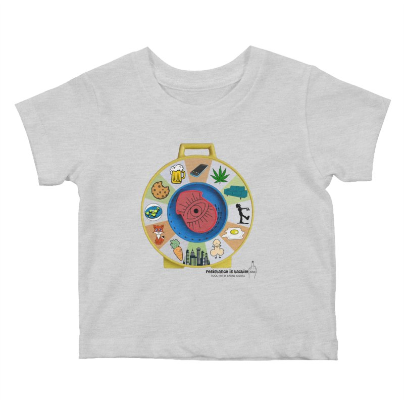 See Something, Say Something Kids Baby T-Shirt by Resistance is Tactile