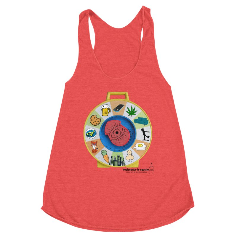 See Something, Say Something Women's Tank by Resistance is Tactile