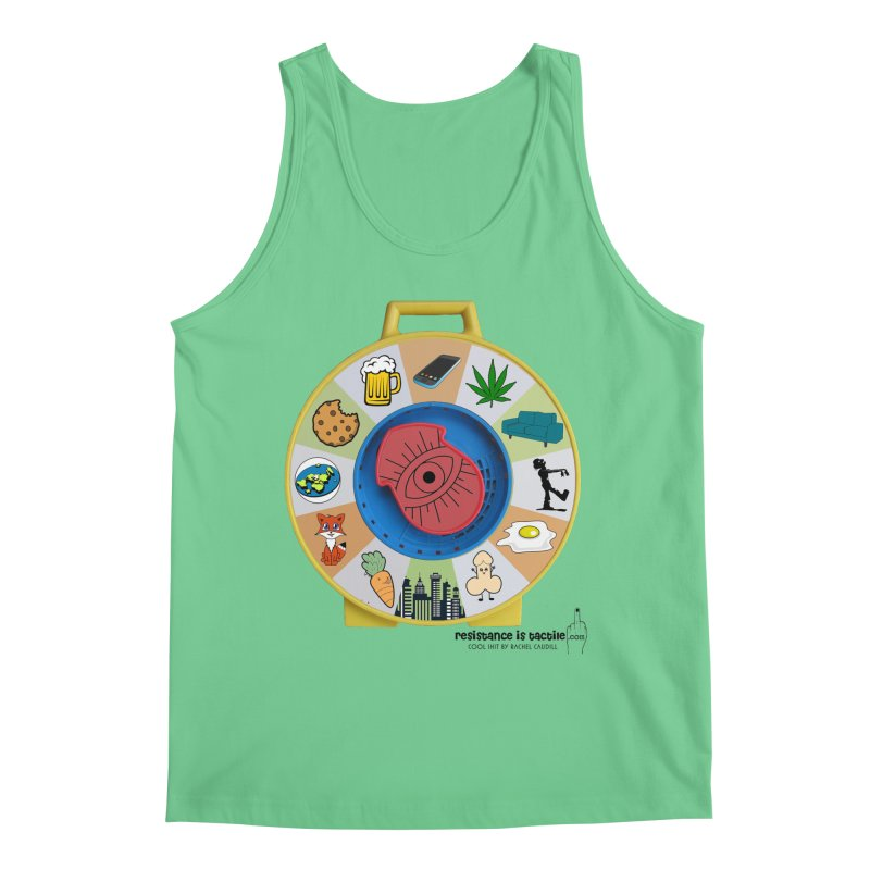 See Something, Say Something Men's Tank by Resistance is Tactile